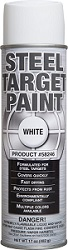 12 CANS OF WHITE TARGET PAINT